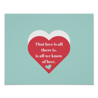 Saint Valentines Day Posters | Zazzle.co.uk