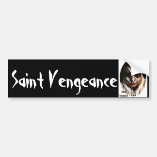 saint vengeance bumper sticker