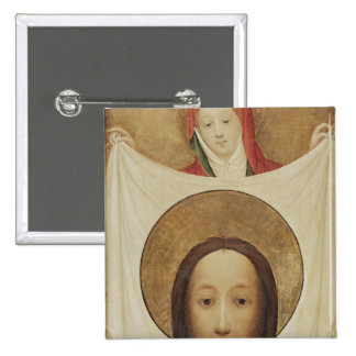 Saint Veronica with the Sudarium, c.1420 15 Cm Square Badge