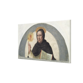 Saint Vincent Ferrer (fresco) Canvas Print