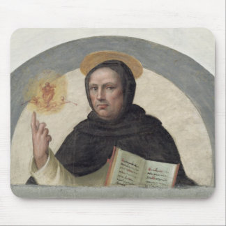 Saint Vincent Ferrer (fresco) Mouse Mat