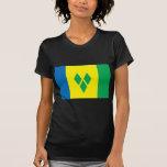 Saint Vincent Flag Tshirt
