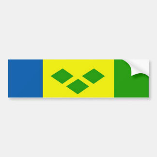 Saint Vincent the Grenadines Bumper Stickers