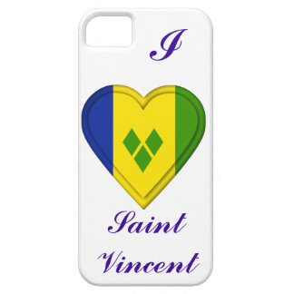 Saint Vincent & The Grenadines flag Barely There iPhone 5 Case