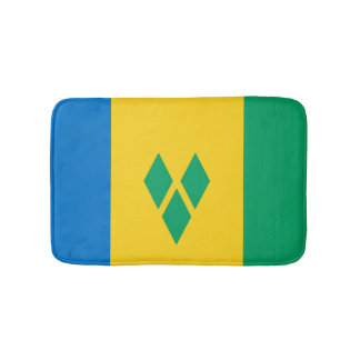Saint Vincentian flag Bath Mat