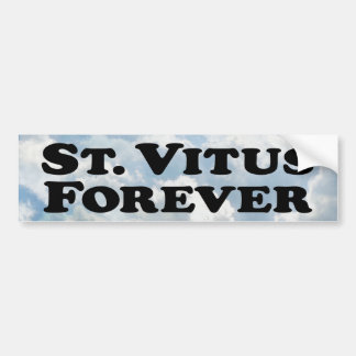 Saint Vitus Forever - Basic Bumper Sticker
