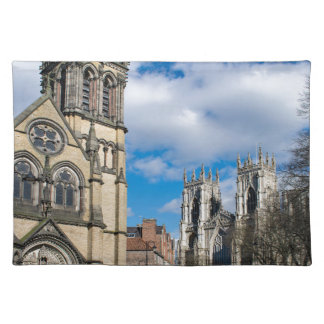Saint Wilfrids and York Minster. Placemat