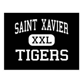 Saint Xavier - Tigers - High - Louisville Kentucky Postcard