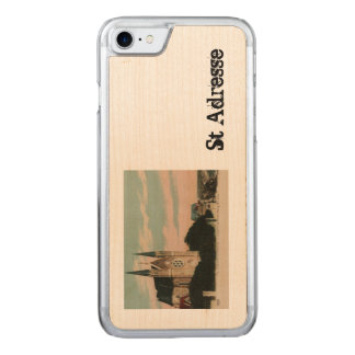 Sainte Adresse postcard design Carved iPhone 8/7 Case