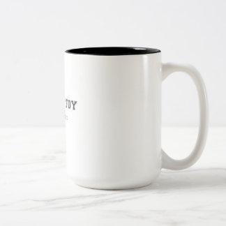Sainte Foy France Two-Tone Mug