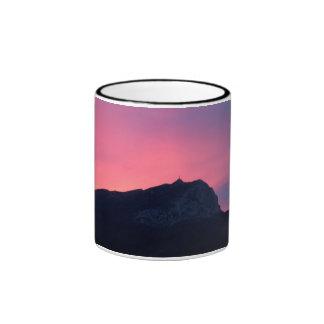 Sainte Victoire Sunrise Ringer Mug