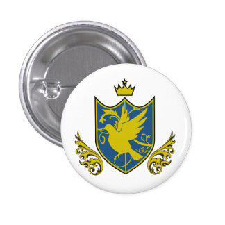 Saintly pijiyoneishiyon - St.PigeoNation's 3 Cm Round Badge