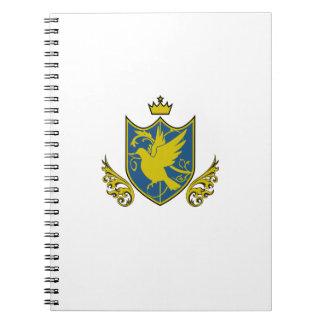 Saintly pijiyoneishiyon - St.PigeoNation's Spiral Notebook