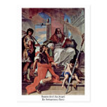 Saints And An Angel By Sebastiano Ricci Post Cards