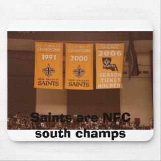 Saints are NFC south champs Mouse Mat