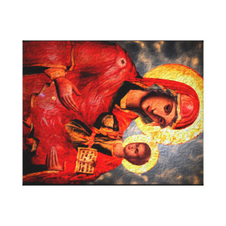 Saints Canvas Print