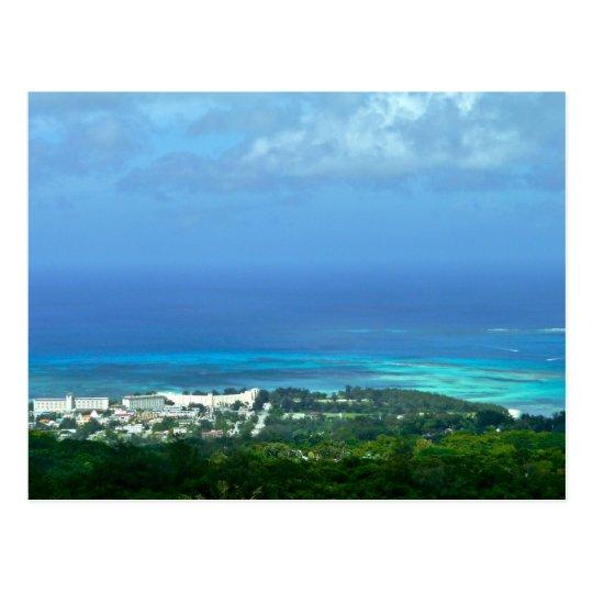 Saipan Lagoon Postcard