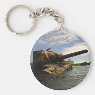 Saipan Past & Present Key Ring