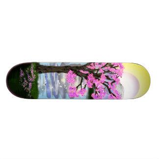 sakura 21.6 cm skateboard deck
