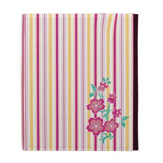 Sakura Batik Stripes iPad Folio iPad Folio Case