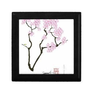 sakura bloom white eye bird, tony fernandes gift box