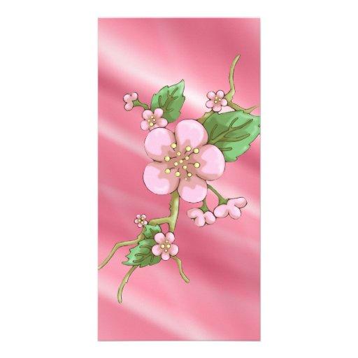 Sakura Blossoms Photo Card Template