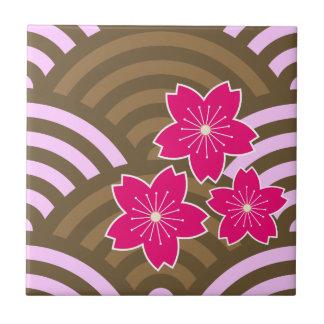 Sakura Blossoms Tiles