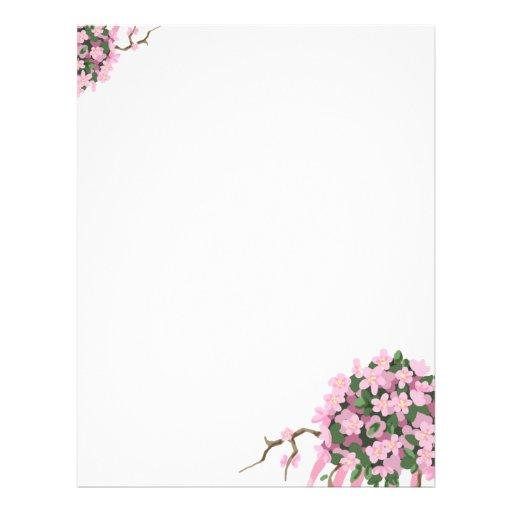 Sakura Bouquet Full Color Flyer