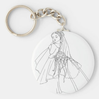 Sakura Bride Key Chains