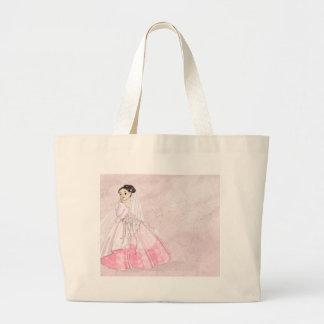 Sakura Bride Large Tote Bag