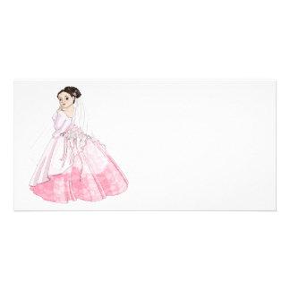 Sakura Bride Photo Card Template