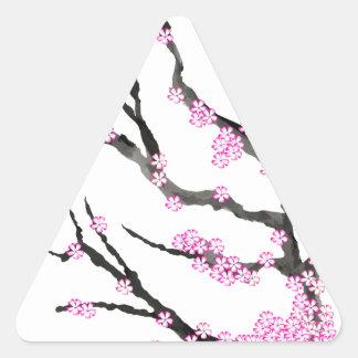 Sakura Cherry Blossom 21,Tony Fernandes Triangle Sticker