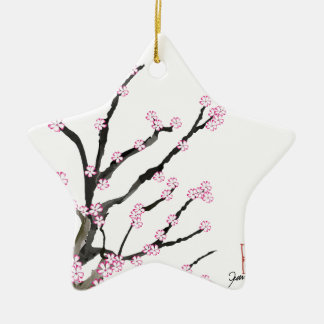 Sakura Cherry Blossom 23, Tony Fernandes Ceramic Star Decoration