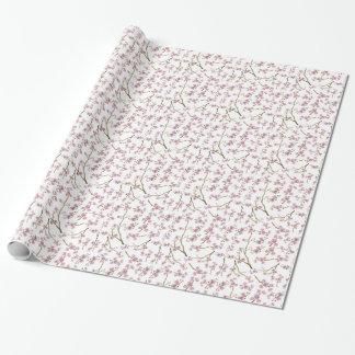 Sakura Cherry Blossom Tiled Wrapping Paper