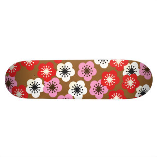 Sakura Cherry Blossoms 18.1 Cm Old School Skateboard Deck