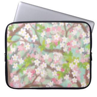 Sakura Cherry Blossoms Electronics Bag Computer Sleeves