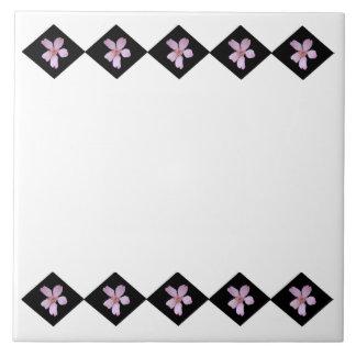 Sakura Diamonds Trivet Ceramic Tile