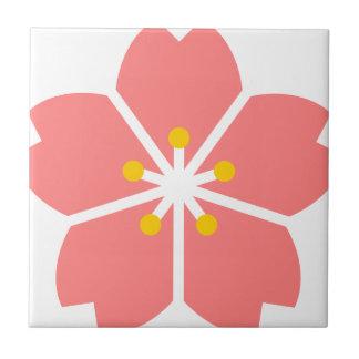 Sakura flower Cherry tree Small Square Tile