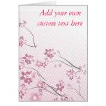 Sakura Flowers Greeting Card