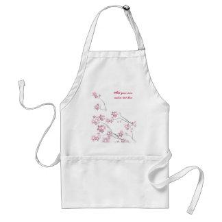 Sakura Flowers Standard Apron