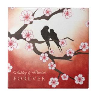 Sakura FOREVER Wedding Gift Small Square Tile