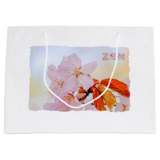 Sakura - Japanese cherry blossom Large Gift Bag