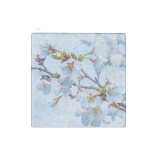 Sakura - Japanese Cherry Blossom Stone Magnet