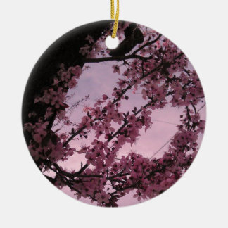 Sakura.jpg Round Ceramic Decoration