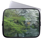 Sakura, Koishikawa Koraku-en Garden, Tokyo, Laptop Sleeve