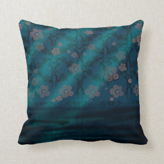 Sakura Lagoon Throw Cushions