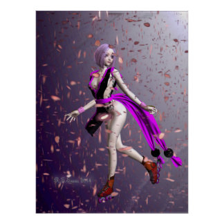 sakura ninja poster