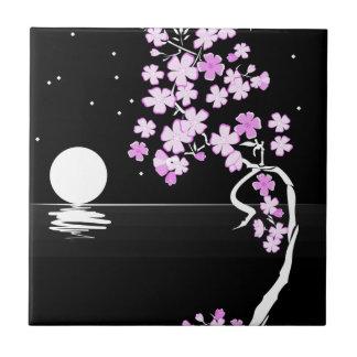 Sakura of the Night Tile