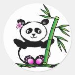 Sakura Panda Sticker