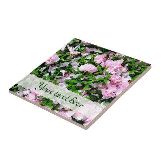 sakura petals 陶器タイル